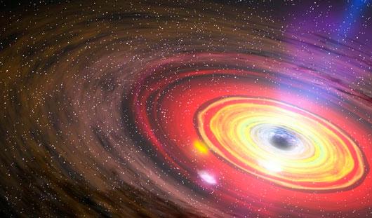 В нашей галактике спустя 26 лет проснулась черная дыра-монстр