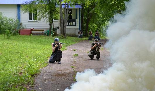 Сотрудник «Кречета» обучил кадетов из Ижевска стрельбе и рукопашному бою