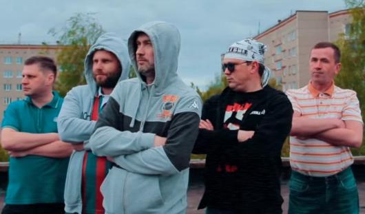 В Ижевске папы выпускников одного из лицеев записали рэп-клип