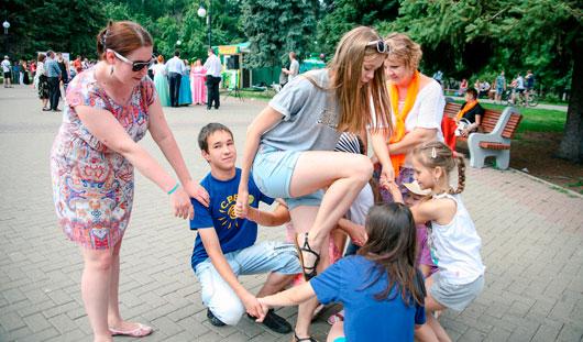 Фестиваль детских игр прошел в Ижевске в День молодежи