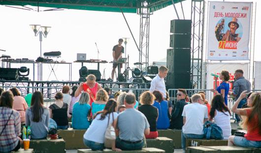 В Ижевске на День молодежи прошел фестиваль электронной музыки «Иж-Планета»
