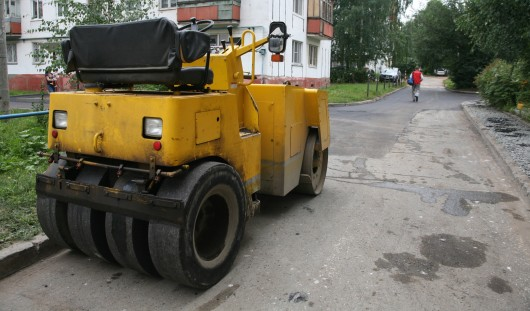 До конца сезона в Ижевске отремонтируют 42 тротуара
