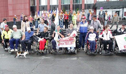 Инвалиды-колясочники из Ижевска отправились на рок-фестиваль «Нашествие»