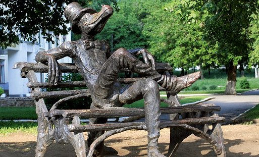 Ижевская скульптура крокодила попала в рейтинг самых необычных скульптур в России