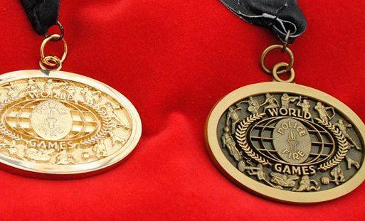 Спортсмены из Удмуртии завоевали 10 медалей на Всемирных играх полицейских и пожарных
