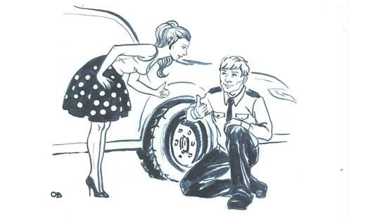 Ко Дню ГИБДД: 10 историй от водителей и сотрудников автоинспекции
