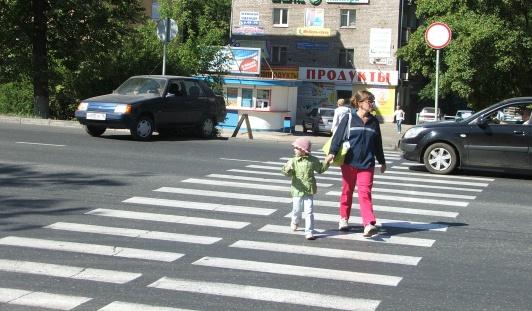 В Ижевске появились три новых пешеходных перехода