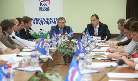 Партия «Единая Россия» разрабатывает план развития Ижевска