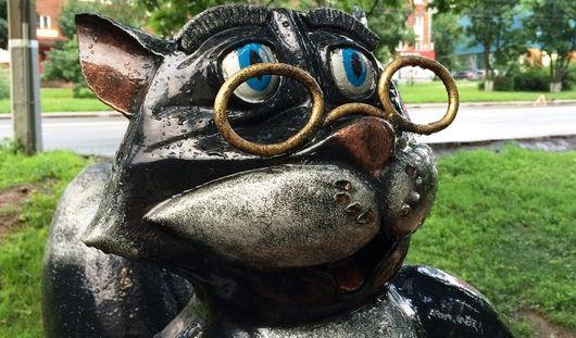 В Ижевске у скульптуры Кота Ученого отпилили усы