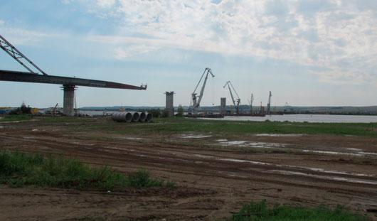 В Удмуртии строительство мостов через реки Камбарку, Каму и Буй выполнено наполовину