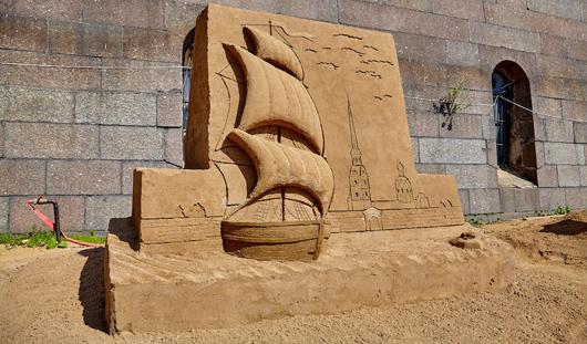Ижевчанин победил на фестивале песчаных скульптур в Санкт-Петербурге