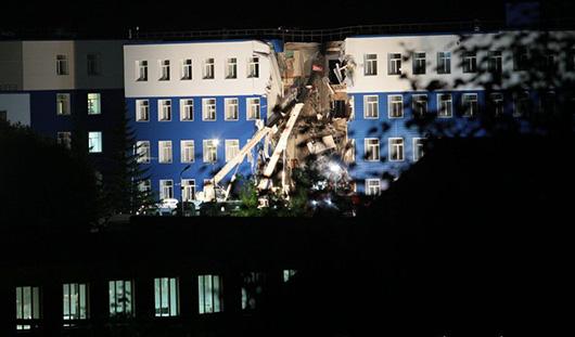 Задержан первый подозреваемый по уголовному делу об обрушении казармы в Омске