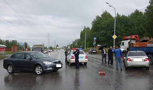 В аварии в Ижевске пострадал 5-месячный ребенок