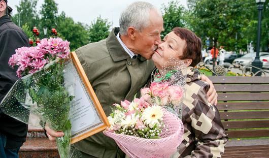 История ижевской любви длиною в 44 года: будущие супруги познакомились в трамвае
