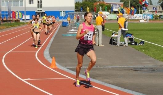 Бегунья из Удмуртии завоевала «серебро» чемпионата России
