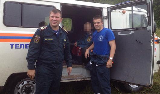 Двое рыбаков из Ижевска и ребенок потерялись среди болот без еды и воды