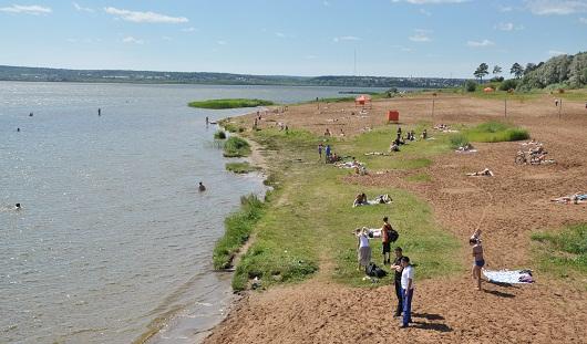 В Ижевском пруду снизилось количество сине-зеленых водорослей