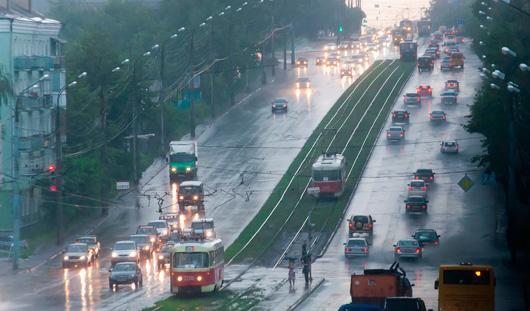 Итоги июля в Ижевске: самый холодный день и всего 5 дней без дождей