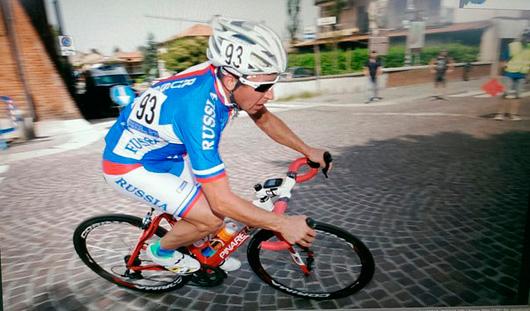 Сергей Пудов из Удмуртии посвятил «серебро» чемпионата мира по паравелоспорту своей жене