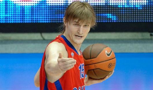 В Ижевск может приехать баскетболист Андрей Кириленко