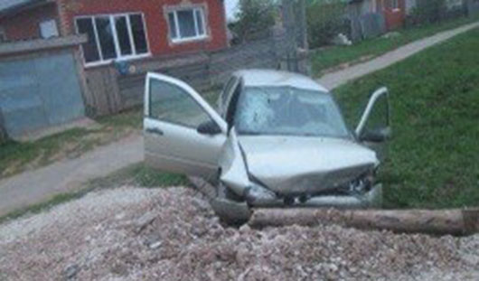 42-летний пассажир погиб в аварии в Удмуртии