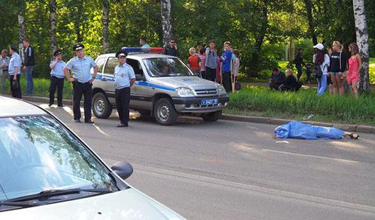 В Ижевске на улице Дзержинского насмерть сбили пожилую женщину