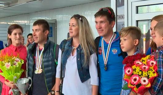 В Ижевск вернулись призеры чемпионата мира по паравелоспорту
