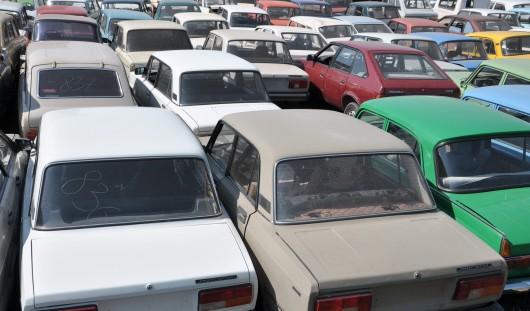 161 автомобиль угнали в Удмуртии, чтобы сдать в металлолом