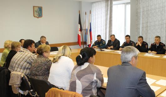 В муниципалитете Ижевска состоялось заседание антитеррористической комиссии