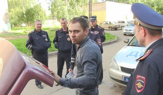 В Ижевске пьяный водитель пытался скрыться от полицейских