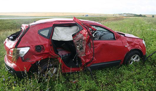 В аварии под Ижевском погиб 41-летний мужчина
