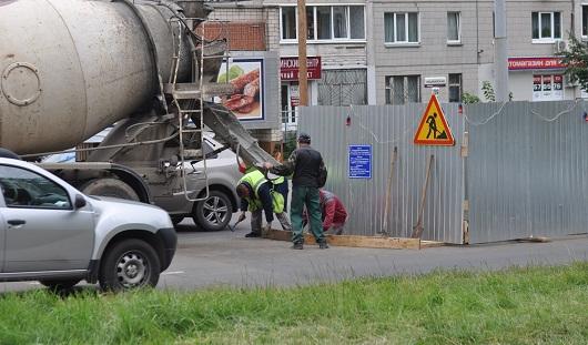 В Ижевске ограничили движение по улице Пушкинской