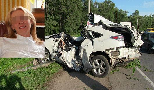 Водитель, погибшая в «Лексусе» под Ижевском, была пьяна