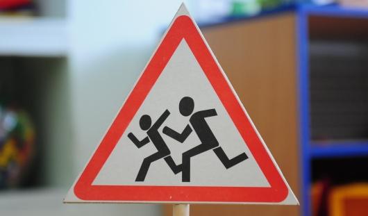 В Удмуртии полицейские обратили внимание на отсутствие разметки около школ
