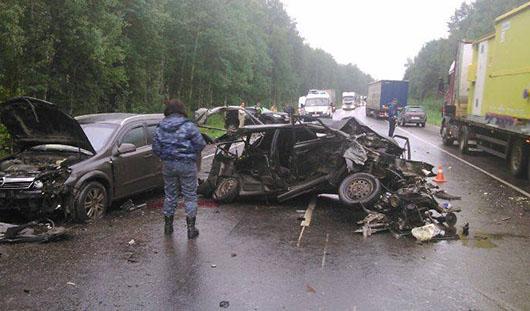 Два человека погибли в аварии на трассе Ижевск-Можга