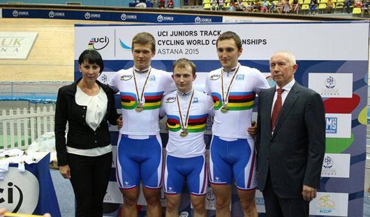 Гонщик из Удмуртии стал победителем юниорского первенства мира по велоспорту на треке