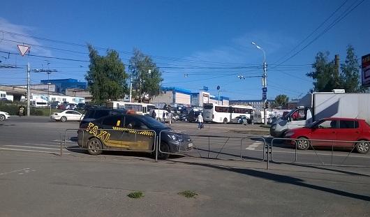 В Ижевске на перекрестке улиц Кирова и Удмуртская сбили пешехода