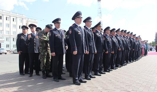 В Удмуртии полторы тысячи полицейских выйдут на охрану порядка 1 сентября