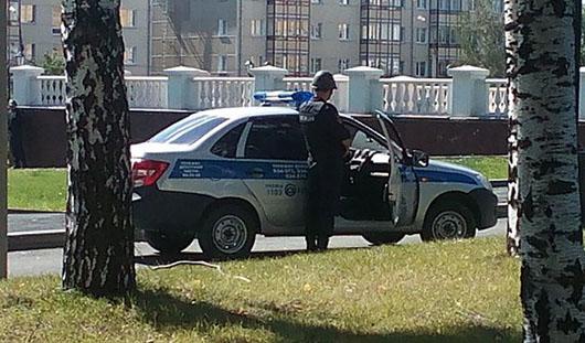 В районе Центральной площади Ижевска проходят учения спецслужб