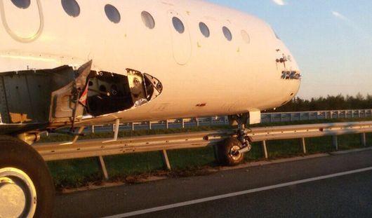 В Татарстане самолет Як-40 стал участником ДТП