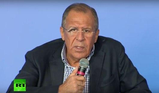 Ижевчанка в прямом эфире задала вопрос Министру иностранных дел России