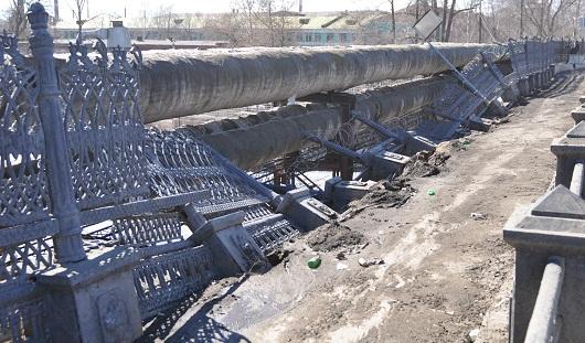 В Ижевске начали ремонт моста по проезду Дерябина