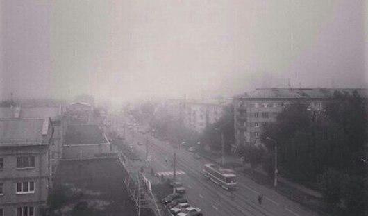 Ижевчане сфотографировали туман 26 августа