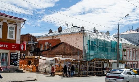 Купеческий дом в Ижевске на улице Горького начали восстанавливать