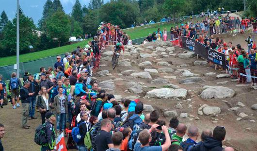 Маунтинбайкеры Удмуртии выступили на этапе Кубка Мира в Италии