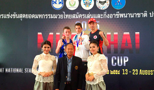 Два спортсмена из Удмуртии взяли «золото» на чемпионате мира по тайскому боксу