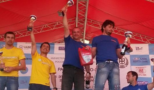 Ижевчанин занял первое место на Кубке России по ралли-гонкам