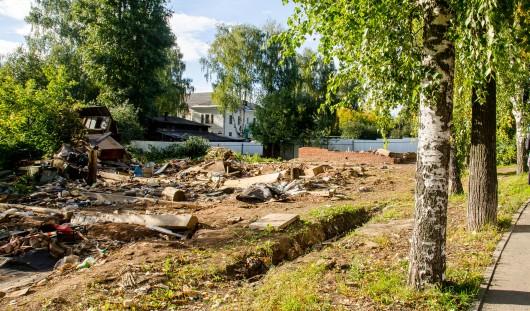 В Ижевске сносят дома на улице Пушкинской