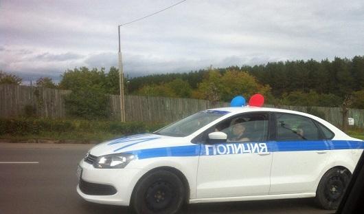 Владельца машины, разрисованной под экипаж ДПС, в Ижевске привлекут к ответственности