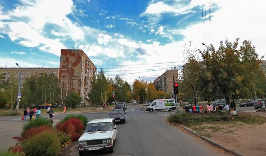 На улице Новостроительной в Ижевске появился светофор для пешеходов